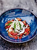 Mussel,tomato and fennel salad