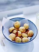 Gougères, cheese puffs