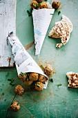 Tandoori turkey meatballs