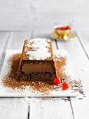Chocolate and toffee terrine