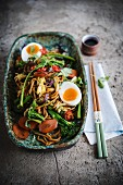 Bami Goreng with eggs