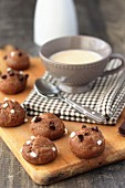 Chocolate Chouquettes