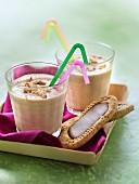 BelVita chocolate-hazelnut milkshake