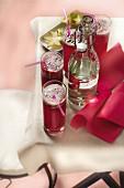 Alkoholfreier Cocktail mit Cranberrysaft