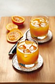 Gin and orange juice cocktail
