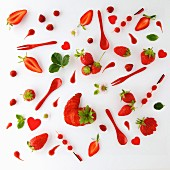 Red food painting