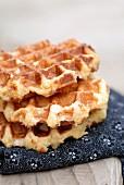 Brown sugar wafles