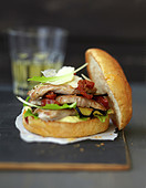 Piccata-Burger