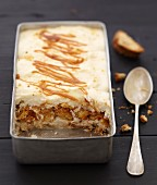Toffee and almond tiramisu