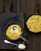 Macaronis and gorgonzola gratin