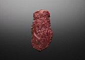 Raw beef flank steak