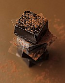 Chocolate toffees