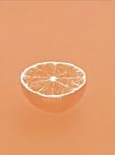 Mandarinenhälfte