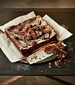 Chocolate and pecan brownie