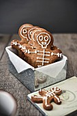 Gingerbread skeleton men