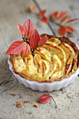 Rennet apple and star anise individual pie