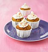 Chestnut flour cupcakes