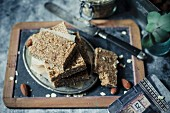 Homemade healthy and energy bars
