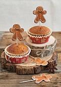 Individual gingerbreads