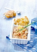 Tuna paté with peppers and Saint-Moret cream cheese