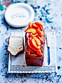 Yoghurt and stewed summer fruit cake by Christophe Felder