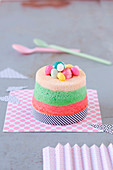 Mini Angel Cake to Easter