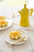 Citrus fruit sunny tartlet