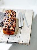 Banana And Blueberry Bread Cake