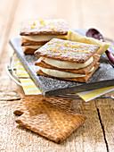 Lemon-Flavored Mascarpone Mousse And Lu Biscuit Revisited Tiramisu
