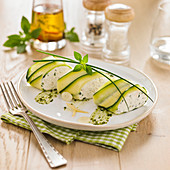 Courgette,Fromage Frais And Herb Cannellonis