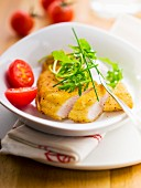 Viennese turkey escalope
