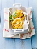 Potato mini gratins