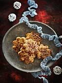 Brown sugar and hazelnut pralin Bredele
