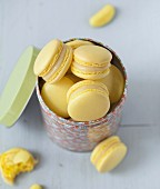 Banana jelly sweet Macarons