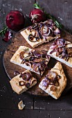 Red onion and rosemary Focaccia