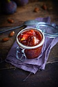 Jar of fig jam