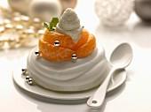 Express clementine Pavlova