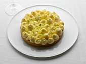 Lemon and lime tartlet