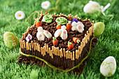 Garden Easter cake