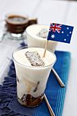 Australian Lamingtons tiramisu