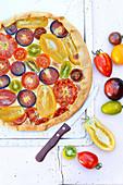 Tutti tomati tart