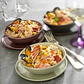 Spanish-style rice sauté
