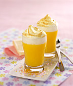 Zitronencreme mit Baiserhaube