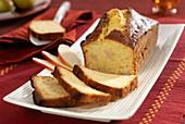Pear pound cake