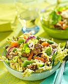 Oriental lamb salad