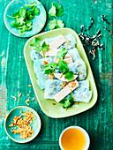Vietnamese raviolis