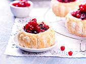 Small summer berry Charlottes