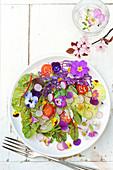 Flowery salad