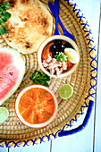 Slata ommek houria, tunisian carrot salad