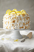 Lemon meringue Paradise cake